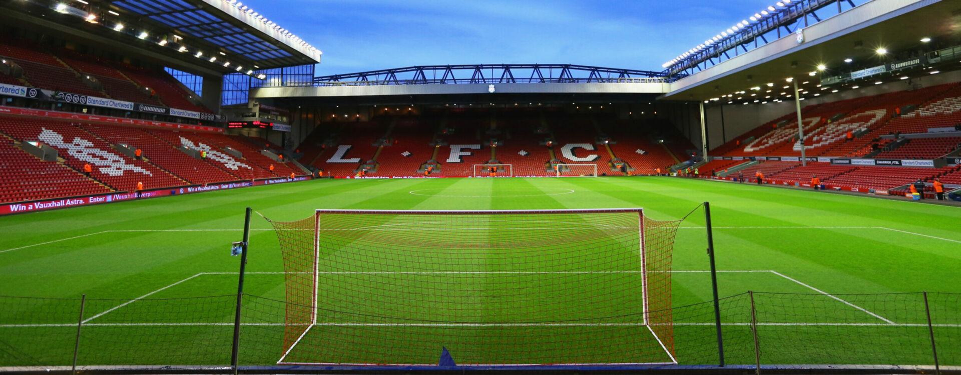 Liverpool football hospitality corporate event