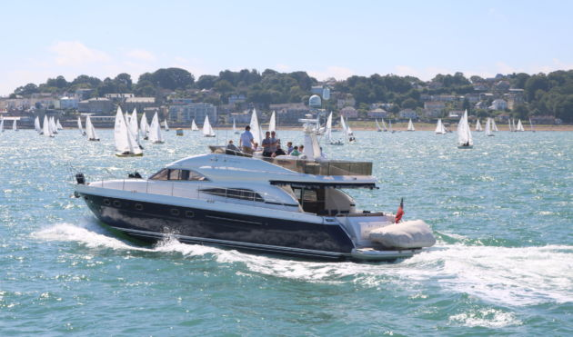 VIP Corporate Hospitality Food dining Staff Incentive Gift Travel Package Cowes Week Festival Sailing Helicoptor