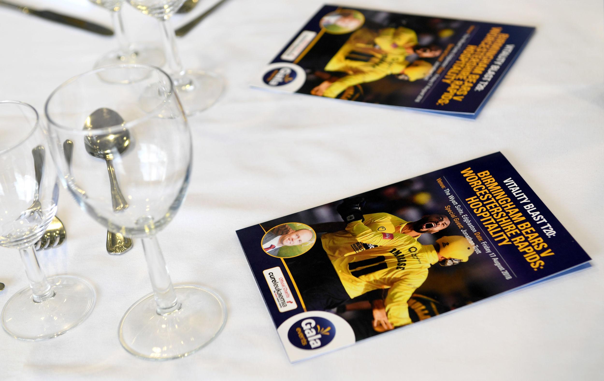 Birmingham Bears T20 Blast at Edgbaston 2020 | Gala Hospitality