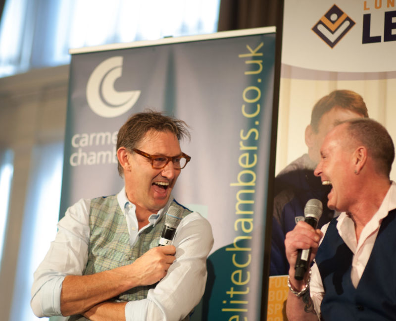 London Lunch With A Legend - Paul Gascoigne & Tony Adams