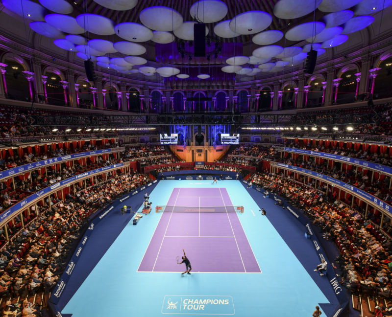 Tennis VIP Corporate Hospitality Royal Albert Hall Champions